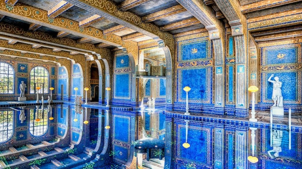 Hearst Castle California Swimming Pool