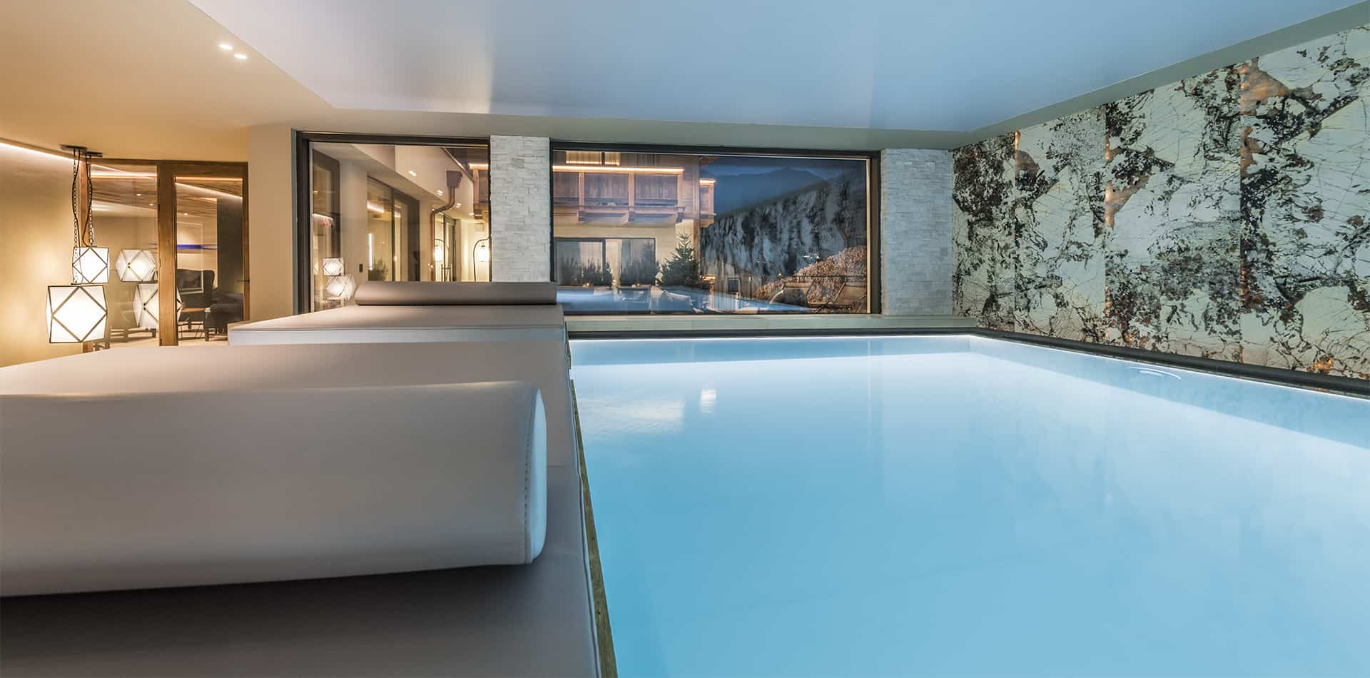 Luxury Indoor Swimming Pool