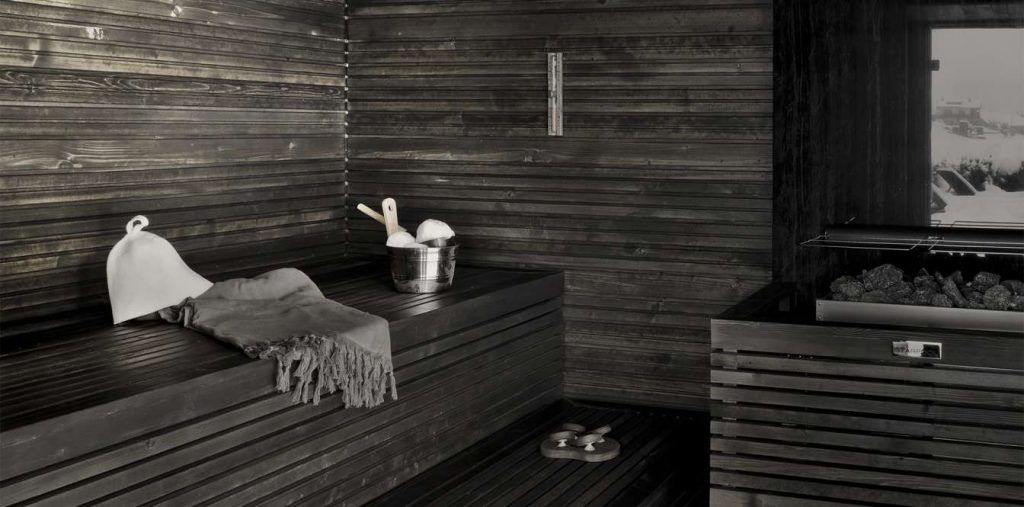 Winter Wellness Luxury Sauna